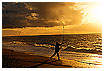 286 - Sunset Fishing - Angler im Sonnenuntergang
