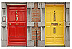 884 - Colorful doors - Farbenfrohe Türen