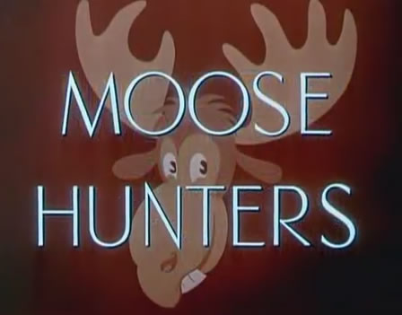 Mickey Mouse - Moose Hunters