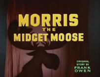 Walt Disney - Morris, The Midget Moose