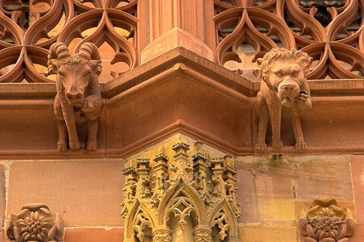 1450 - Strasbourg Cathedral Details III - -